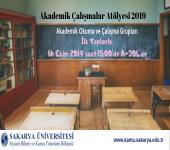 Akademik Çalışmalar Atölyesi 2019